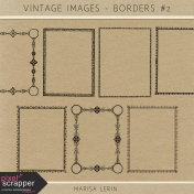 Vintage Images Kit- Borders #2