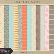 Heart Eyes Papers Kit