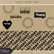 Today Word Art Kit
