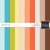 Sofia Solid Papers Kit