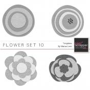 Felt Flower Set 010 Kit