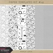 Paper Templates Kit #142