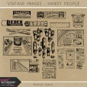 Vintage Images Kit - Handy People