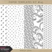 Paper Templates Kit #143