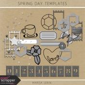 Spring Day Templates Kit
