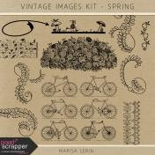 Vintage Images Kit- Spring