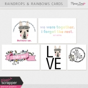 Raindrops & Rainbows Cards Kit