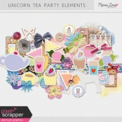Unicorn Tea Party Elements Kit