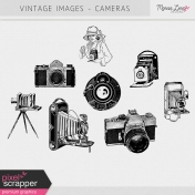 Vintage Images Kit- Cameras