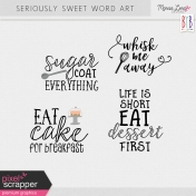 Seriously Sweet Word Art Kit