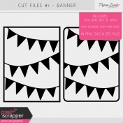 Cut Files Kit #1- Banners