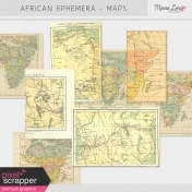 African Ephemera Kit- Maps