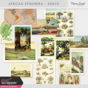 African Ephemera Kit- Kenya