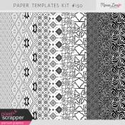 Paper Templates Kit #150