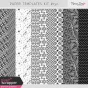 Paper Templates Kit #152