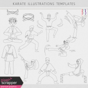 Karate Templates Kit