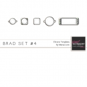 Brad Set #4- Chrome Kit