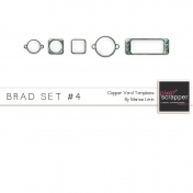 Brad Set #4- Copper Verd Kit