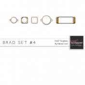 Brad Set #4- Gold Kit