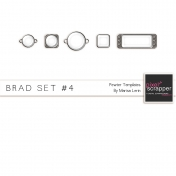 Brad Set #4- Pewter Kit