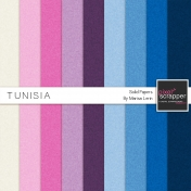 Tunisia Solid Papers Kit