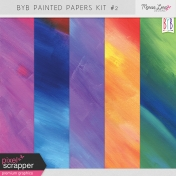 Build Your Basics Painted Papers Kit #2