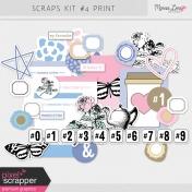 Scraps Kit #4 Print