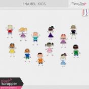 Enamel Kid Pins Kit