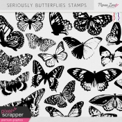 Seriously Butterflies Stamps Kit