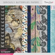 Seriously Butterflies Papers Kit