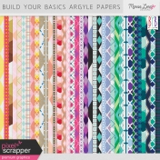 Build Your Basics Argyle Papers Kit