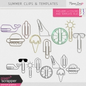 Summer Clips & Templates Kit