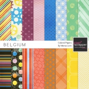 Belgium Papers Kit
