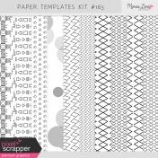Paper Templates Kit #165