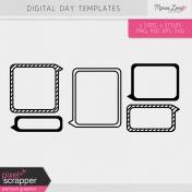 Digital Day Templates Kit
