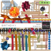 Birthday Elements Kit