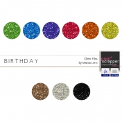Birthday Glitters Kit