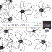 Flower Doodles #2 Kit