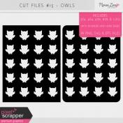 Cut Files Kit #15- Owls
