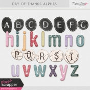Day of Thanks Alphas Kit