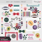Day of Thanks Print Kit
