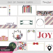 Day of Thanks Pocket Cards Kit