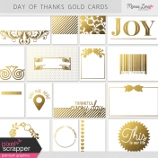 Day of Thanks Gold Pocket Cards