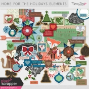 Home For The Holidays Elements Kit