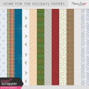 Home For The Holidays Papers Kit