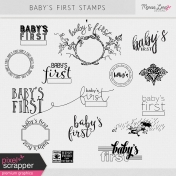 Baby's First Stamps Kit