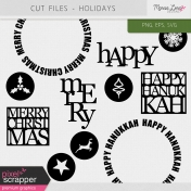 Cut Files Kit- Holidays