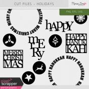 Cut Files Kit - Holidays