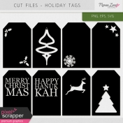 Cut Files Kit- Holiday Tags