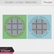 Holiday Layout Templates Kit